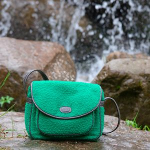 Shoulder bag in Panno Casentino