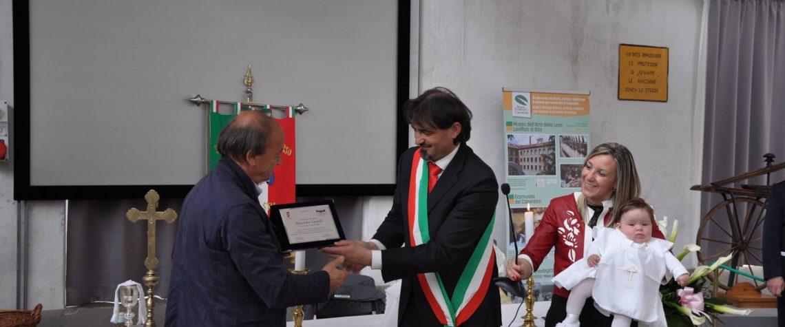 Riconoscimento per il nostro patron Massimo Savelli